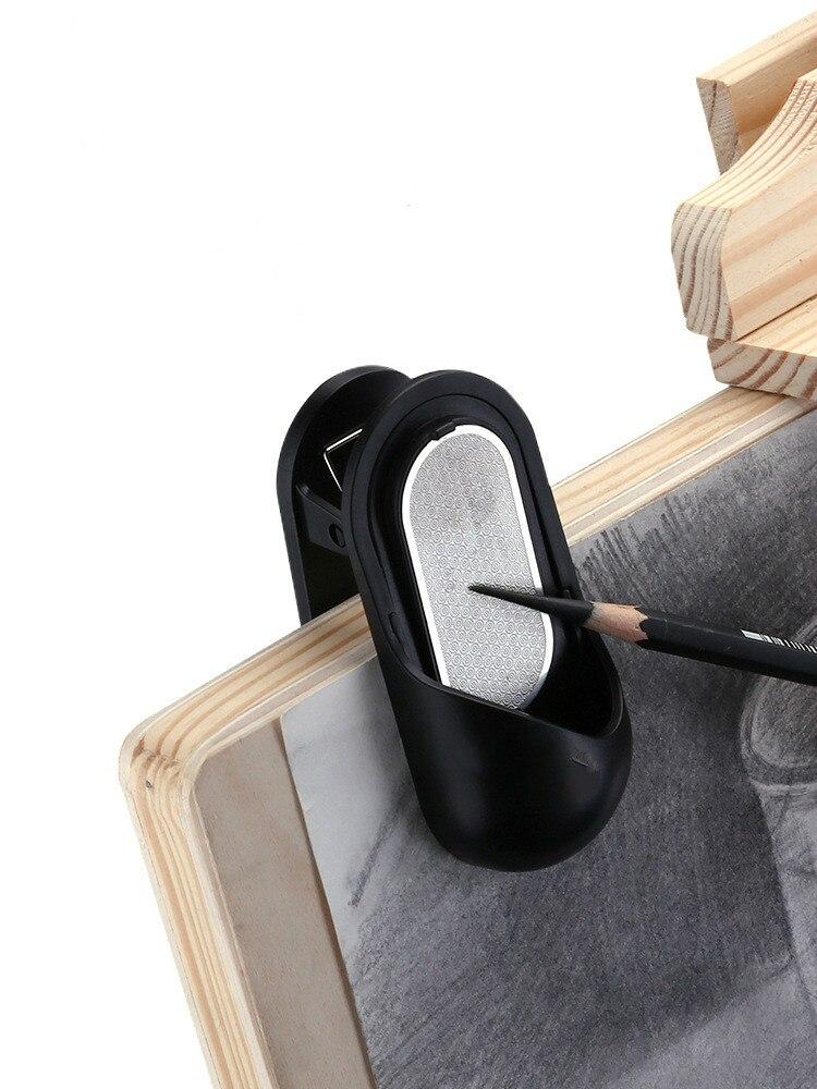 Fabricante de sacapuntas, venta al por mayor, punta de carbón congelado, clip de imagen de estudiante, sacapuntas de doble uso