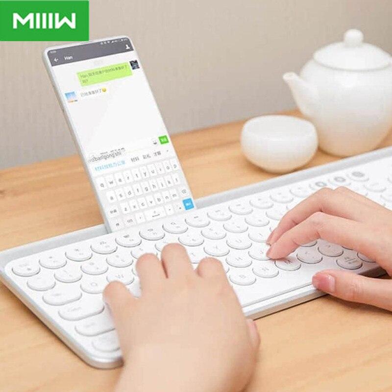 مييو-لوحة مفاتيح أصلية لاسلكية مزدوجة الوضع تعمل بالبلوتوث, 104 مفتاحًا ، 2.4 جيجا هرتز ، متوافقة مع لوحة مفاتيح شاومي ماك + معجون لوحة المفاتيح ...