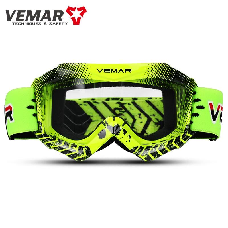 Vemar Kids Motorcycle Glasses Childen Motocross Racing goggles Child ATV MX Motorbike Dirt Bike Ski Goggles Moto Helmet Glasses enlarge