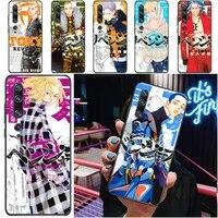 tokyo revengers atsushi takemichi hanagaki hinata takemichi phone case for xiaomi cc9 pro cc9e funda cases carcasa coque