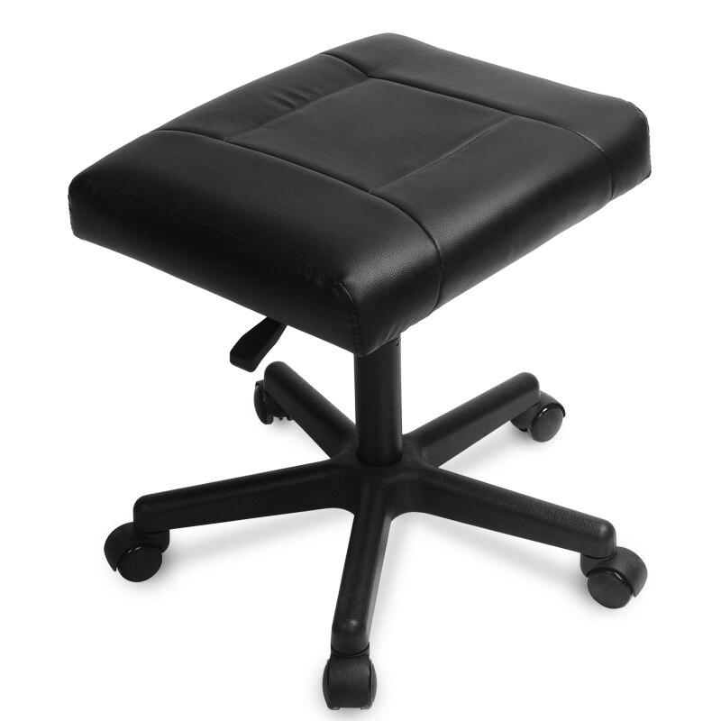 مسند قدم مريح بدون ظهر ، كرسي مكتب مع رغوة الذاكرة ، أثاث مكتب ، مسند للقدمين ، كرسي كمبيوتر