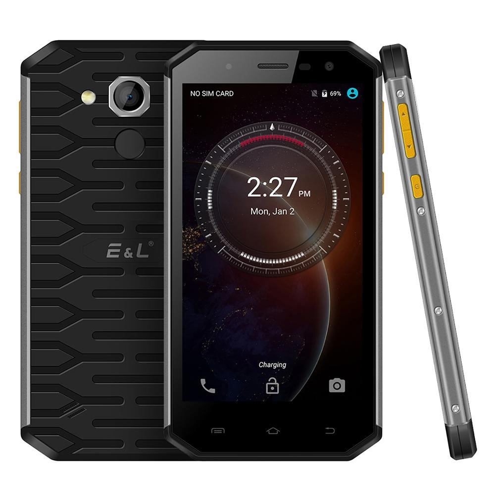 "Kxd e & l s50 ip68 áspero telefone android 6.0 mtk6753 octa núcleo 3 gb ram 32 gb rom 5.0 ""exibição 13mp fm 4g lte impressão digital smartphone"