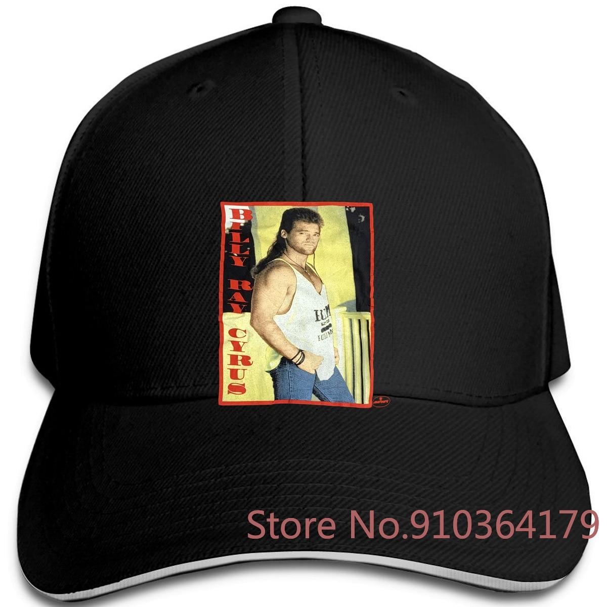 Vintage Billy Ray Cyrus Tour Rap Mercury discos grande A28 ajustable gorras de béisbol hombres mujeres