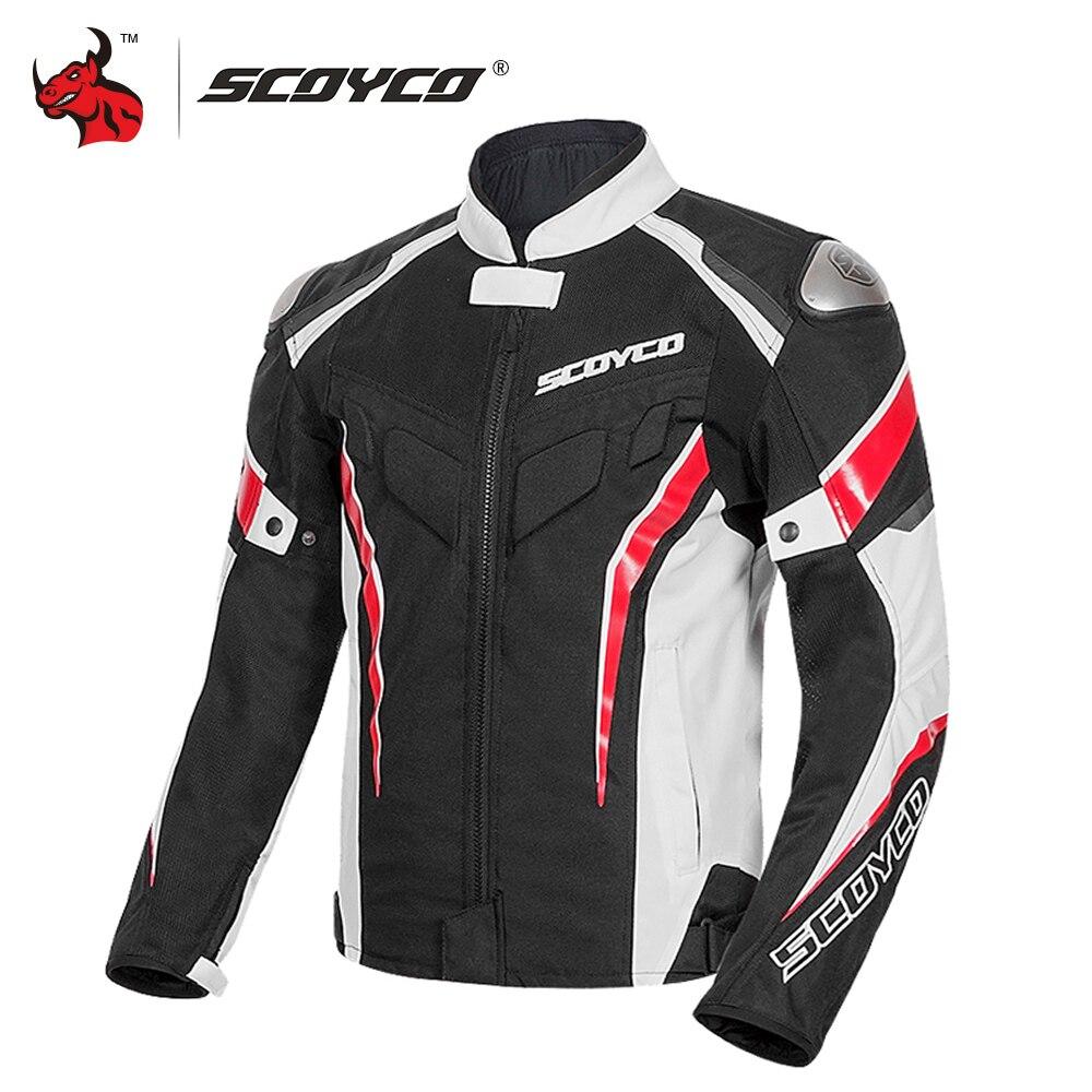 SCOYCO-سترة دراجة نارية عاكسة للتنفس ، معدات واقية ، للصيف ، موتوكروس