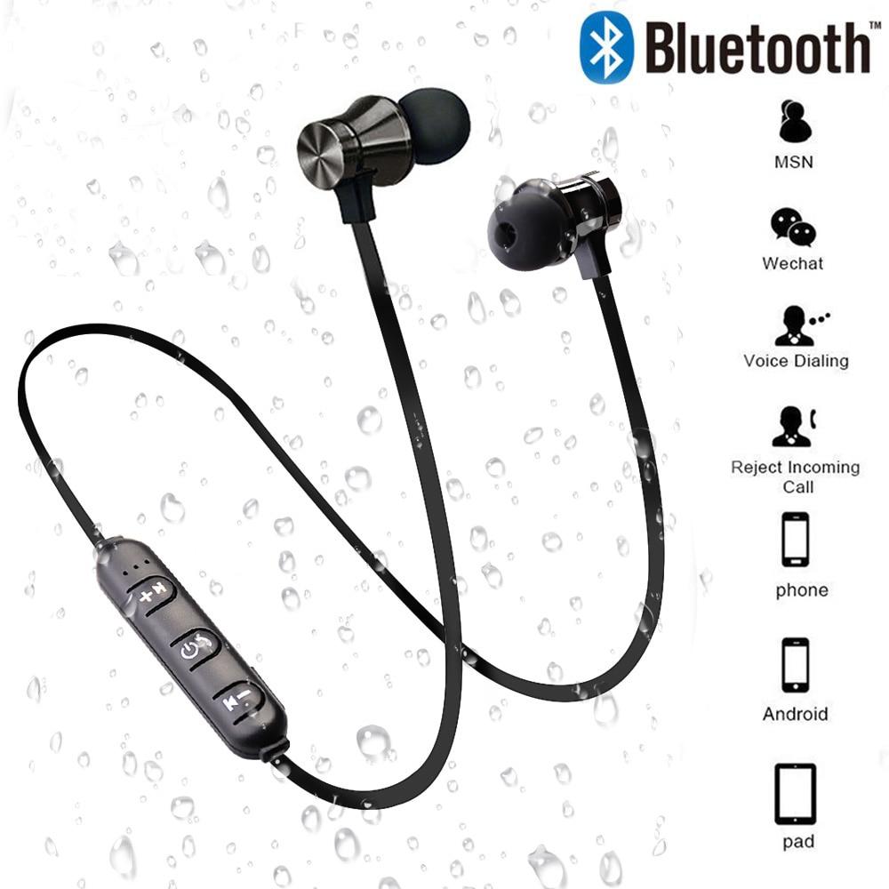 Magnetic Drahtlose Bluetooth Kopfhörer In-Ohr Mit Mic XT11 Musik Headset Telefon Neckband Geschenk Sport Ohrstöpsel Für Xiaomi iPhone