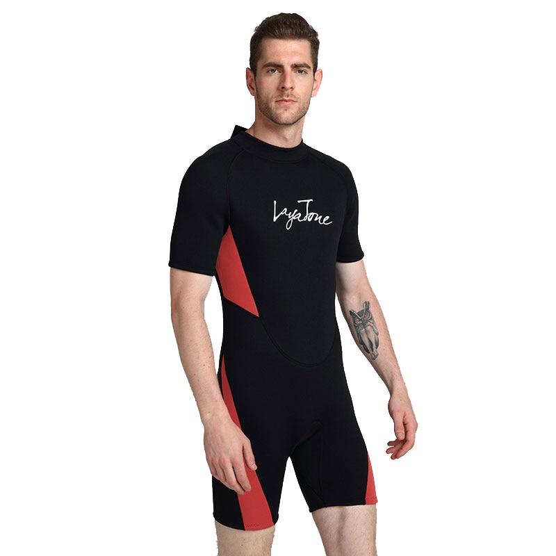 2021 3mm neoprene shorts men's swimsuit oversize 6xl 5XL black swimsuit swimming surf diving suit
