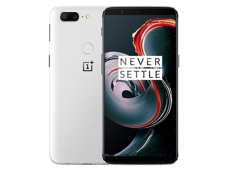 "Nuevo Original desbloquear versión Global Oneplus 5T A5010 teléfono móvil 6,01 ""8GB RAM 128GB tarjeta SIM dual Snapdragon 835 Octa Core teléfono"
