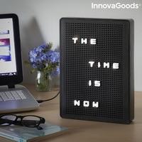 InnovaGoods Light-Up Peg Board