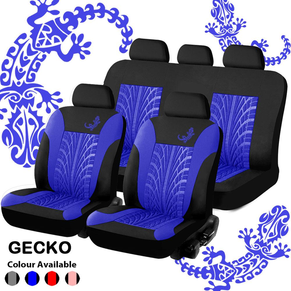 Car Seat Covers Set Universal Fit Most s  with Tire Track Detail Styling Pink   Protector Four Seasons For s