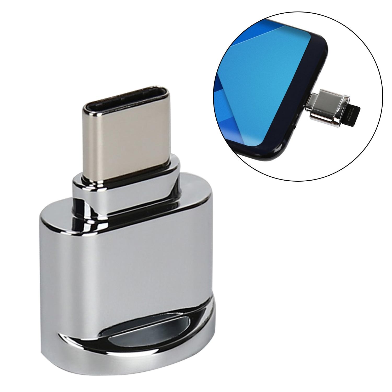 VONETS Mini USB 3.1 Tipo C Micro SD TF Memory Card Reader Adaptador OTG para Apple MacBook Samsung Galaxy S8 tablet Telefone inteligente