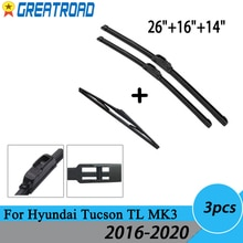 Щетки стеклоочистителя для Hyundai Tucson TL MK3 2016 2017 2018 2019 2020 2017 2018 2019