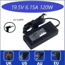 120W 19.5V 6.15A 4.5*3.0mm Laptop Adapter FOR HP ENVY 15 17 15-J013TX J015T 15-AX033 HSTNN-CA25 Char