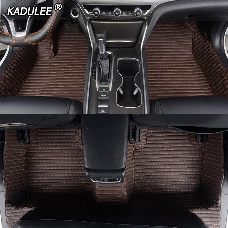 KADULEE, alfombrillas personalizadas de cuero para coche para Geely, todos los modelos Emgrand EC7 GS GL GT EC8 GC9 X7 FE1 GX7 SC6 SX7 GX2