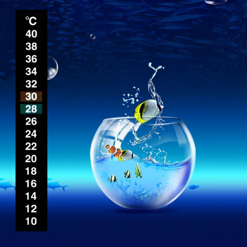Ferramenta de limpeza do tanque de peixes do aquário bomba de vácuo ampulheta filtro termômetro líquido adesivo vara fahrenheit digital lcd cola vara