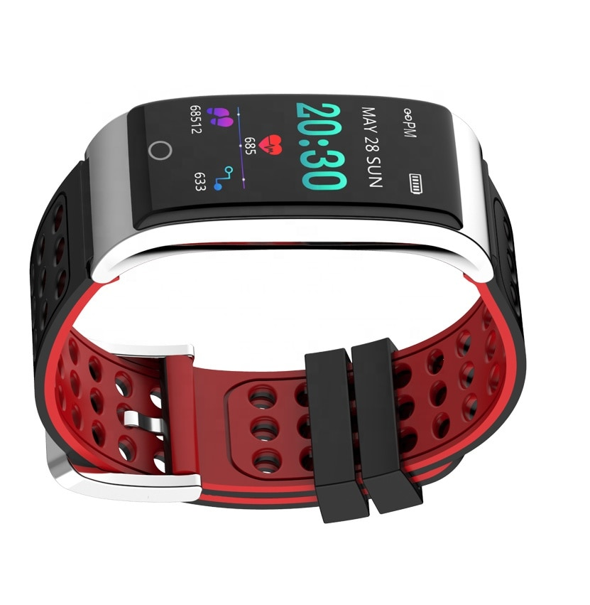 New Professional Health tracker ECG + PPG Smart Bracelet bands With heart rate Blood Pressure monitoring