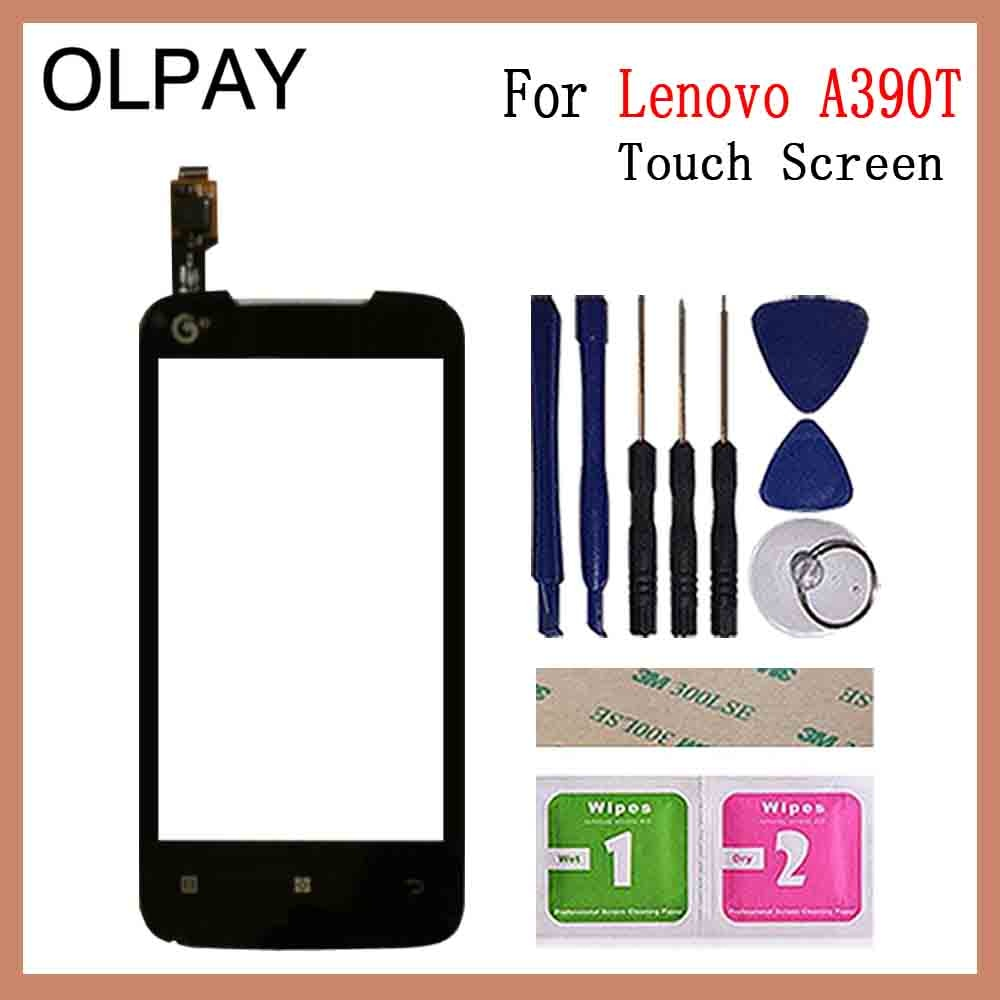 4.0'' Mobile Phone Touch Panel Touchscreen Front Screen Glass Digitizer Panel Sensor For Lenovo A390