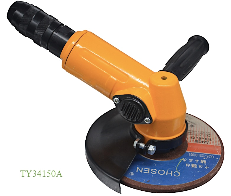 TY34100 Air Angle Wheel Grinder Heavy duty Industrial MRO Applications and Maintenance 4 in. 100mm wheel grinding enlarge