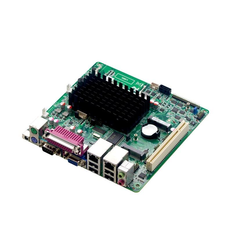 China mini itx motherboard D2550 Pos machine motherboard POS computer mini itx board