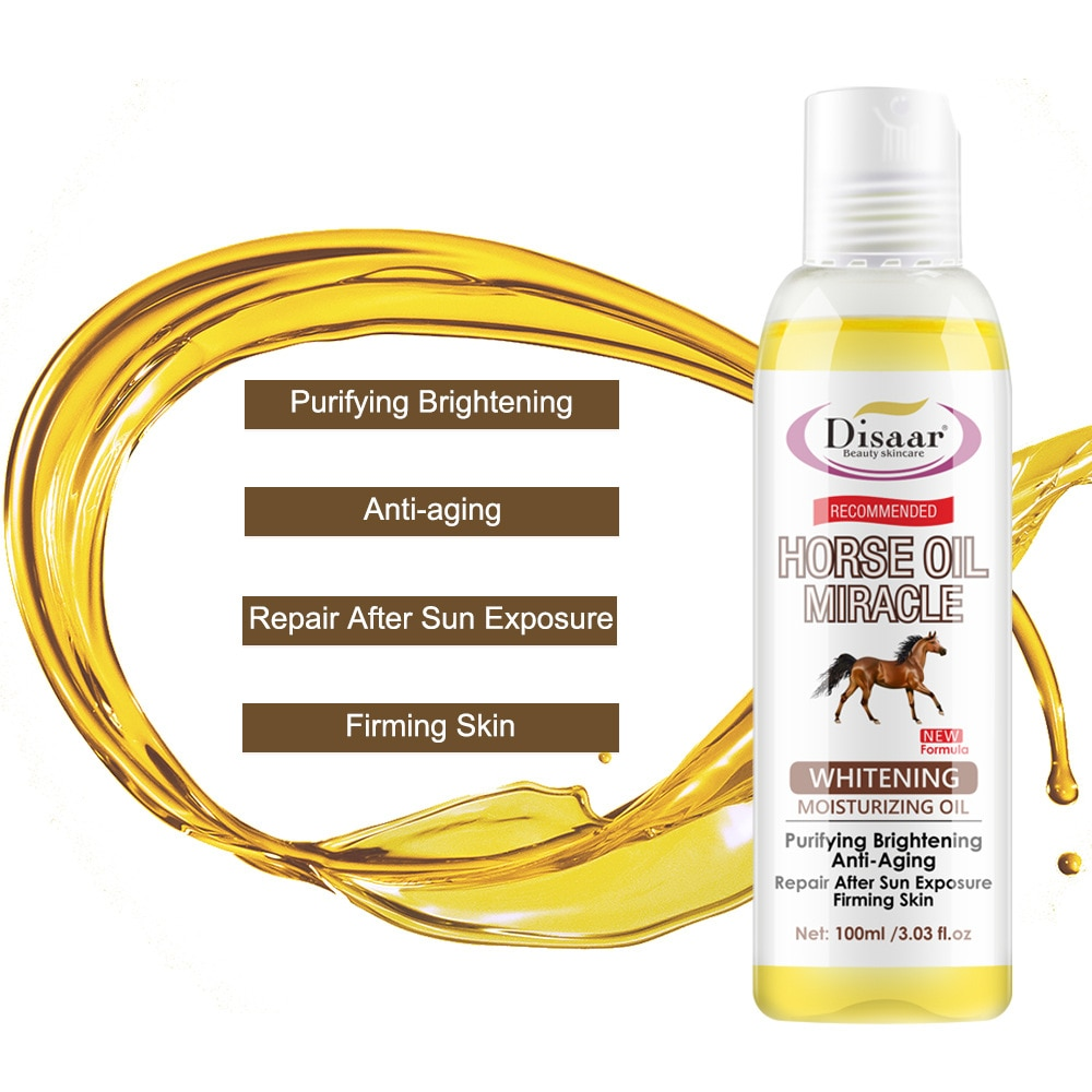100ml Disaar Horse oil body moisturizing oil body care anti-frizz moisturizing massage oil beauty products skin care products