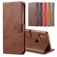 case for redmi note 5 pro case leather vintage phone case on xiaomi redmi note 5 note5 pro case flip magnetic wallet cover funda