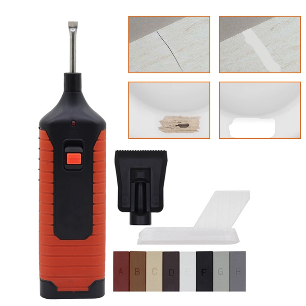 Scratches Mending Tool Set Professional Manual For Floor Repair Chips Furniture Wall Tiles Easy Use Wax System Maintenance  - buy with discount