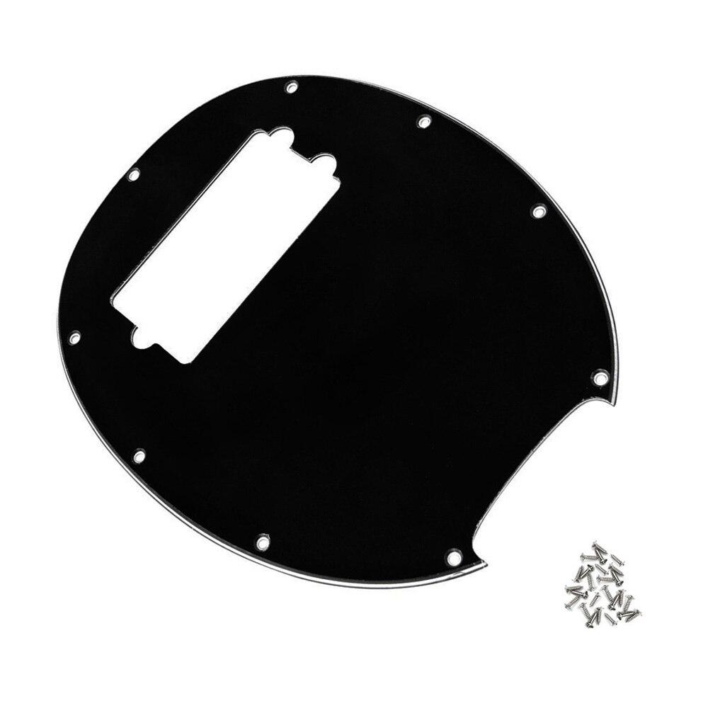 3Ply eléctrico guitarra golpeador Material de PVC para MM música hombre de 4 cuerdas de guitarra de herramientas
