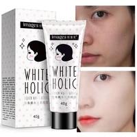 base cream moisturizing nourish oil control concealer cover pores acne repair brighten oatmeal extract face makeup 40g