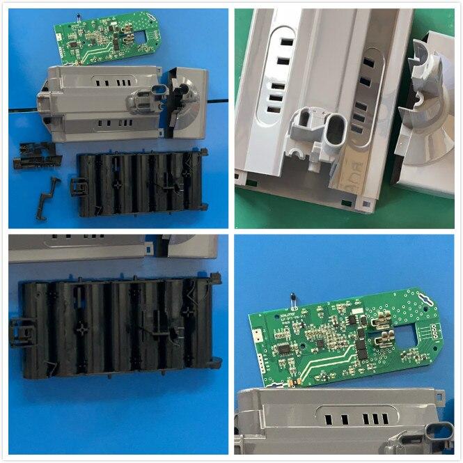 BMS Placa de protección de batería PCB tablas con maletín para Dyson V10