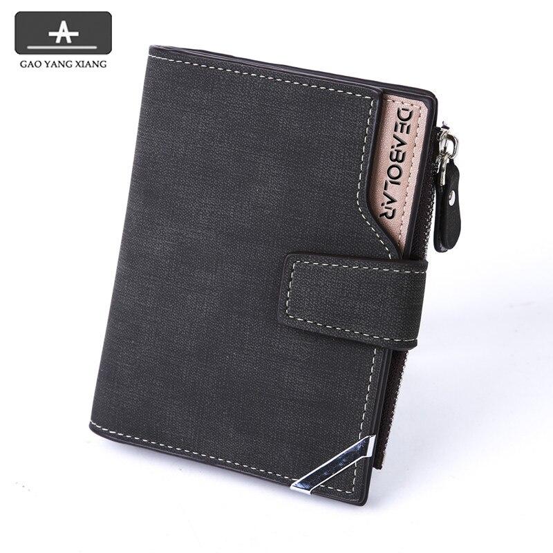 Кожаные кошельки для мужчин и женщин, Короткие Роскошные тонкие бумажники с зажимом для кредитных карт и мелочей