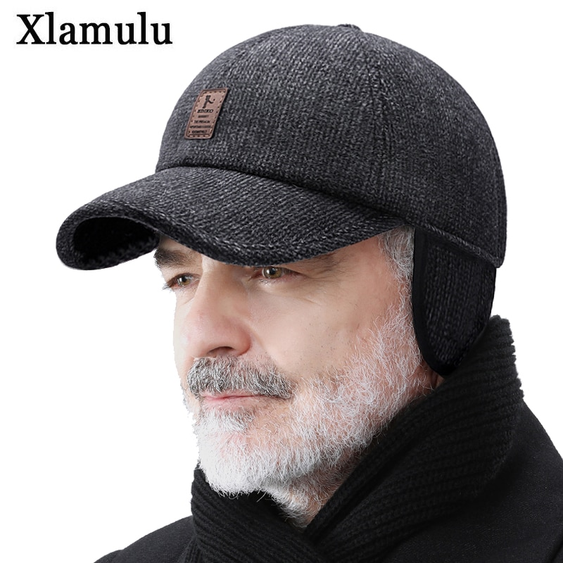 Warm Winter Cap Sport Golf Baseball Cap Hats For Men Snapback Women Casquette Bones Dad Caps Gorras