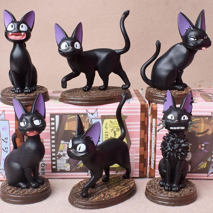 Blind Box Toys Black Cat Guess Bag Blind Bag Animal Dolls Anime Figures Cute Desktop Model Girl Birthday Gift Toys pj masks greg luxury cat car connor cat kid owl girl flying wall man anime figures toys for children birthday gift 7d08