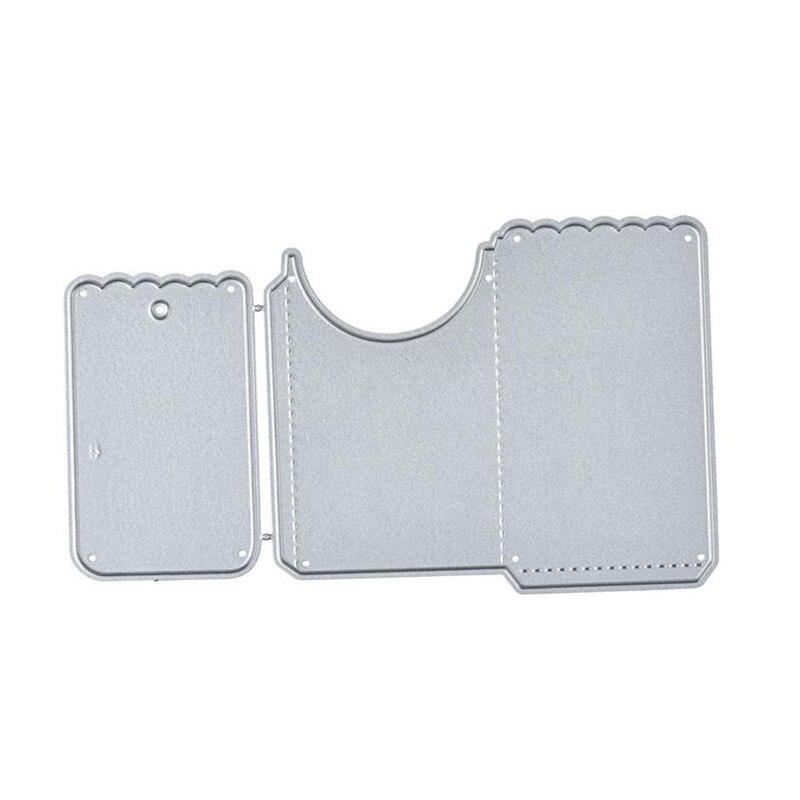 Troqueles de corte de sobres YaMinSanNiO, troqueles de Metal con borde para álbum de recortes, tarjeta de álbum, plantilla de grabado en relieve, artesanía decorativa para el hogar