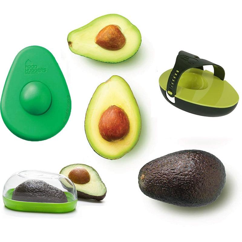 Силиконовый контейнер для хранения авокадо Huggers Avo Saver Box, контейнер для хранения авокадо, защелкивающаяся Крышка для хранения ваших авокадо,...
