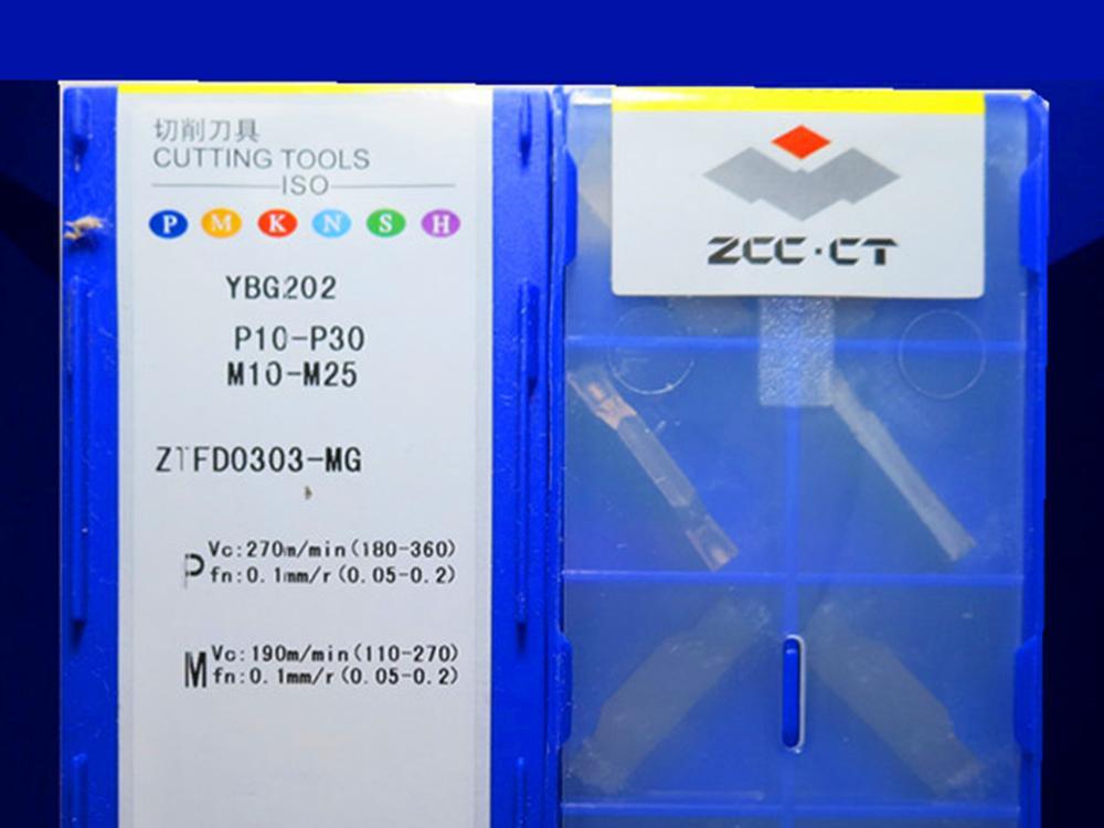 ZTFD0303-MG YBG202 caribde إدراج 10 قطعة