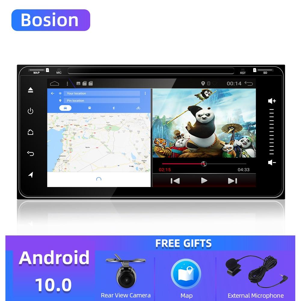4 núcleo 2 din android 9.0/10.0 carro dvd gps navegação para toyota avalon avanza celica camry corolla rádio do carro jogador de vídeo wifi