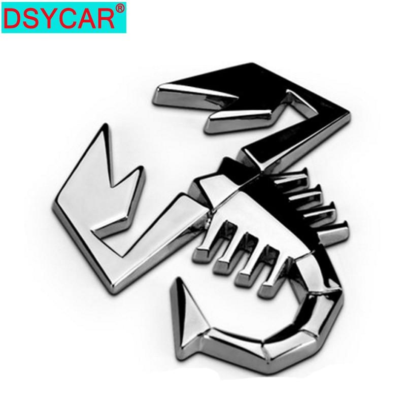 DSYCAR 1Pc 3D del coche de Metal de la pegatinas logotipo insignia emblema estilo de coche para Fiat Bmw Ford focus Lada mazda Audi Opel Skoda Chevrolet Jeep