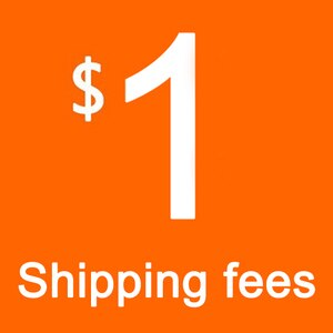 one dollars for extra shipping fee