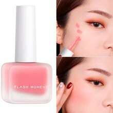Liquid Peach Blush Palette Matte Pigment Cosmetics Repair Matte Blusher Face Cheek Blush Cream Korean Makeup Font De Teint TSLM2