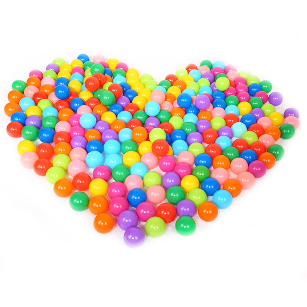 Цветной мягкий пластиковый мяч для бассейна, Забавная детская игрушка для бассейна, пластиковый игрушечный мяч для бассейна