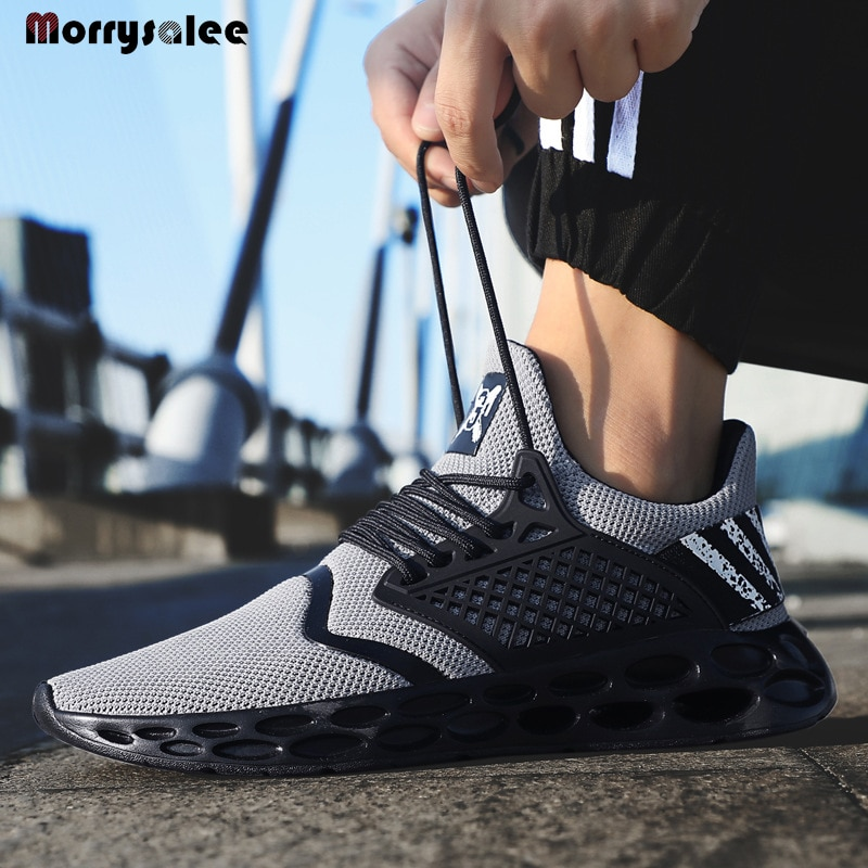 Outdoor Sport Men's Shoes Professional Sneakers for Men Breathable Cushion Women Running Shoes Sweetheart Shoes Men's sneakers