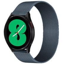 Correa magnética para Samsung Active 2, pulsera de 40/44mm Gear S3, Huawei GT/GT2/2e Galaxy watch 3/4, Correa clásica de 45/42mm, 20mm, 22mm