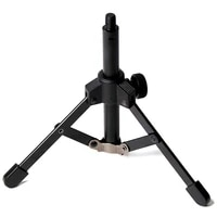 foldable tripod desktop microphone stand holder for podcasts online chat conferences lecturesmeetings and more