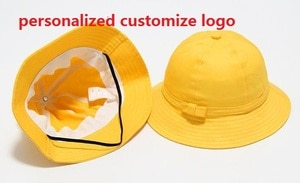 personalized customize logo Party hat print your own logo kids girl boy Chrstmas Event special Favor Presents Team prize yellow