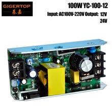 TIPTOP YC-100-12 100 W 12V 24V sortie 54x1 W RGB Led alimentation Par lumière 100 watts pour les fêtes de danse de la salle à la maison Bar karaoké Xas