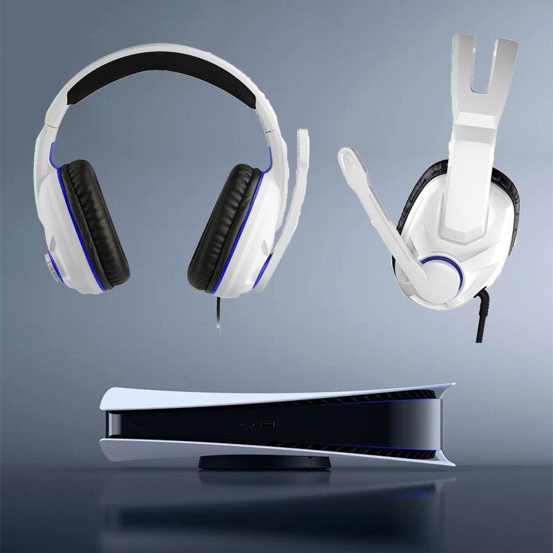 PS5 سماعة ثلاثية الأبعاد ألعاب ستيريو سماعة السلكية ألعاب سماعات التلفزيون VR ثلاثية الأبعاد الألعاب اكسسوارات ل PS5 PS4 XBOX ONE قطعة ألعاب المستخدم...
