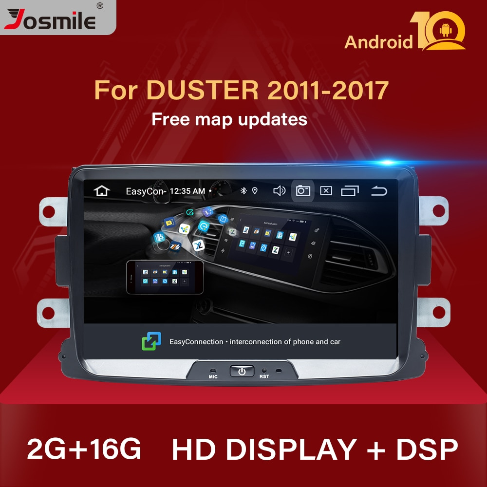 1 din android 10 Car radio multimedia For Dacia Lodgy Logan Duster Sandero Renault Captur/Lada/Xray head unit DVD gps navigation