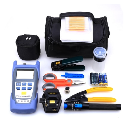 Fiber optical cable inspection tool kit and optic network maintenance tool kit Made In China In Low Price
