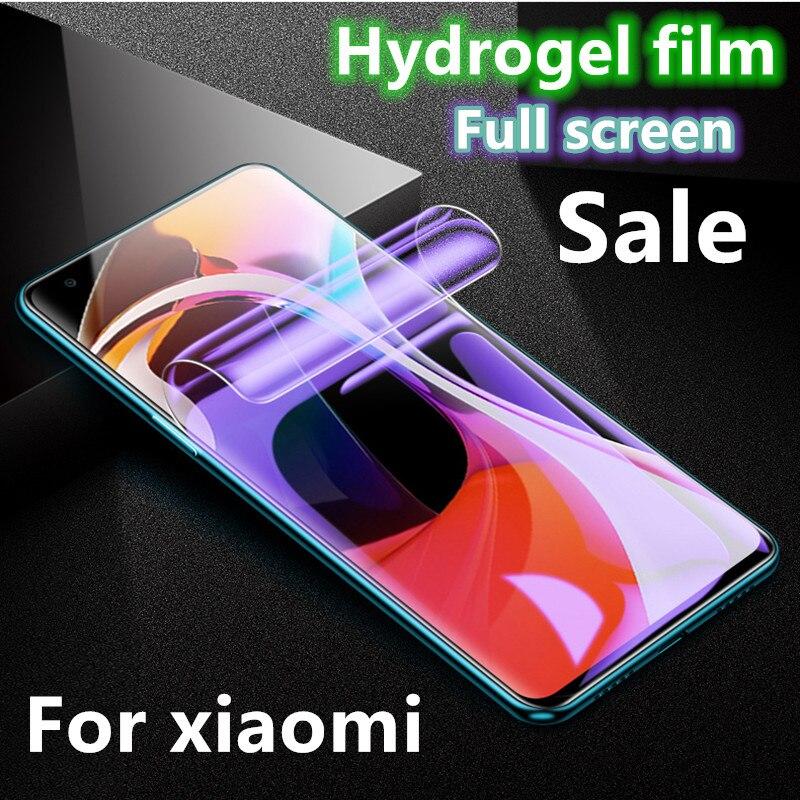 De hidrogel de protector de pantalla de película para Xiaomi mi 9 t pro 9 t mi 9 se mi 9 t mi 9 t de vidrio templado para Xiaomi mi 9x cc9 cc9e A3 mi A3