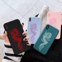 Чехол с драконом для Xiaomi Redmi Note 8T 8 9S Mi 10 T 9 10 T Lite 7 5 6 K20 9A 9C Poco X3 NFC F3 Pro Max