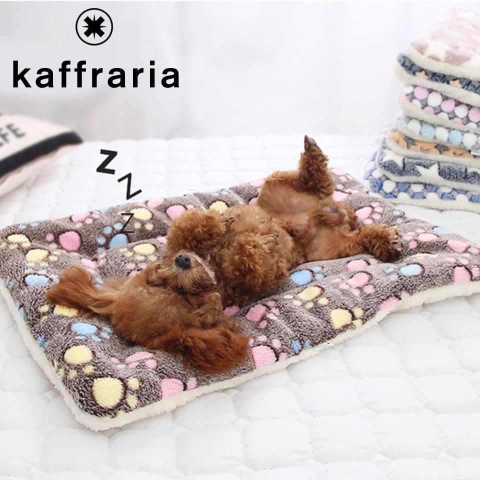 7 patrones 6 tamaños de mascota perro gato Pad manta para la cama suave lavable en caliente de productos para mascotas cojín portátil para mascotas para perros